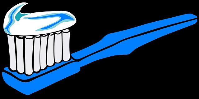 Durchbohrte Zahnbürste